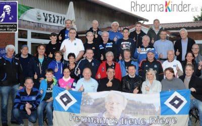 Zu Gast beim HSV-Fanclub Hermann`s treue Riege