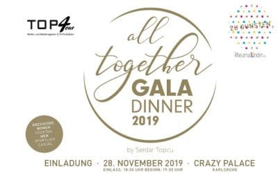 All together Gala Dinner 2019