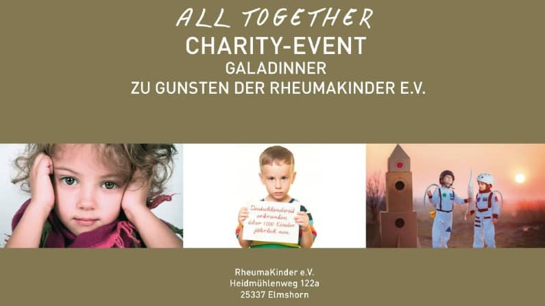 All together Charity-Event zu Gunsten der RheumaKinder e.V.