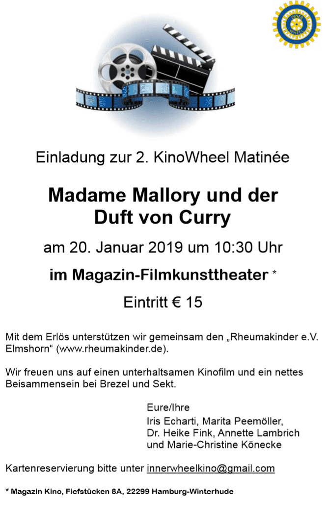 Einladung zur 2. KinoWheel Matinee