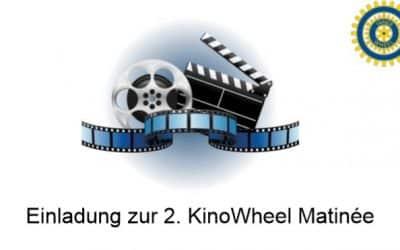 Einladung 2. KinoWheel Matinée der Inner Wheel Clubs