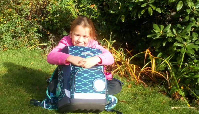 Mira Gewinner eines Schulrucksack - Aktion 2020